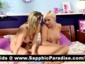 Cute Blonde Lesbians Anal Toying And Pussy Licking..