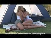 TEEN LESBIANS LICKING PUSSY OUTSIDE  www. ...