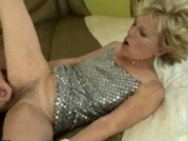 Hot Granny With Hairy Pussy Fucking Young Guy