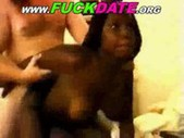 Hot young black girl blowjob