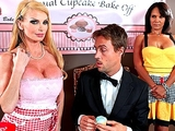 Big-tit blonde MILF fucks judge at the annual cupcake competitio