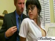Sexy Babes Gets Hardcore Fucked In Office ...