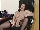 British slut Jessica plays with herself in various scenes